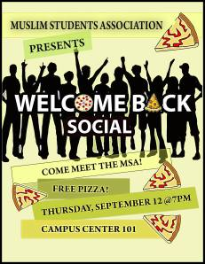 Welcome Back Fall 2013